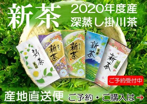 新茶(静岡茶・掛川茶)の通販はこちら